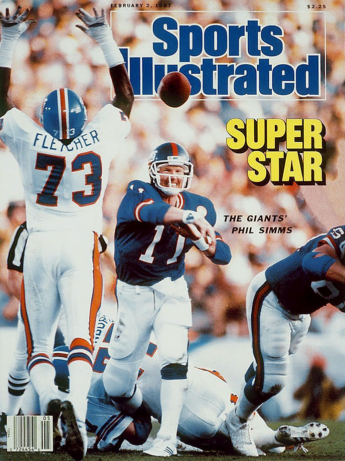 Simms had one of the finest performances in Super Bowl history, completing 22 of his 25 pass attempts (88%) to help the Giants to a 39-20 victory over the Broncos. The two-time Pro Bowl QB was the MVP of Super Bowl XXI.