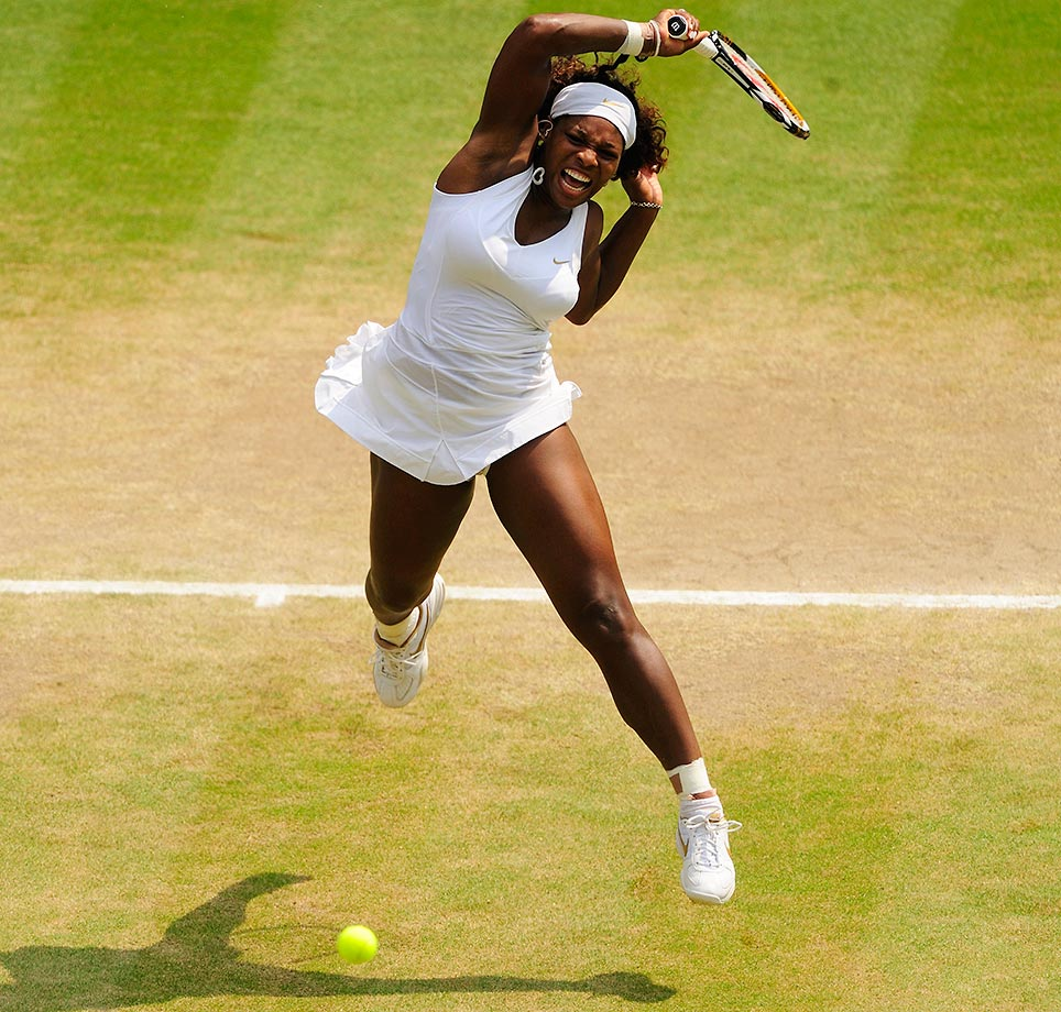 In one of the best women's matches of the decade, Serena saved match point against Elena Dementieva in the semifinals to win 6-7(4), 7-5, 8-6. She then went on to beat Venus in the final 7-6, 6-2.