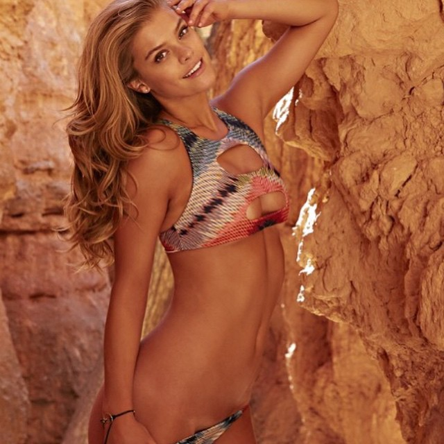 It's a #hot #sunny day in #Miami. Nina Agdal feels the #heat in her Indie Soul #bikini featured in #sportsillustrated #swimsuit check us out in store or on line #ninaagdal #siswim #bikinis #swimsuit #swimwear #boho #bohemian #bohochic #springbreak #miamibeach #southbeach #brickell #model #models #sexy #beachbabe #style #fashion