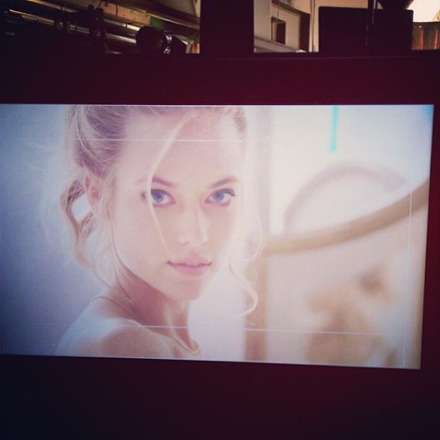 Fun shooting a commercial in #Switzerland this last week! @trumpmodels