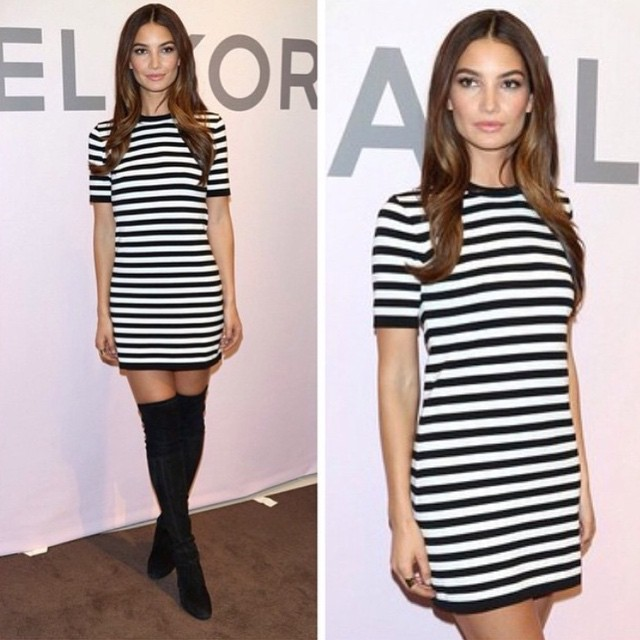 Stripes for days! @michaelkors @lamarquenyc @hungvanngo @benskervin