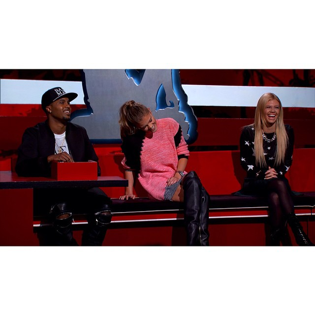TOMORROW!!! @robdyrdek @steelobrim @chanelwestcoast #ridiculousness @mtv 10:30/9:30c come laugh with us neak peek: http://on.mtv.com/18vXkTN