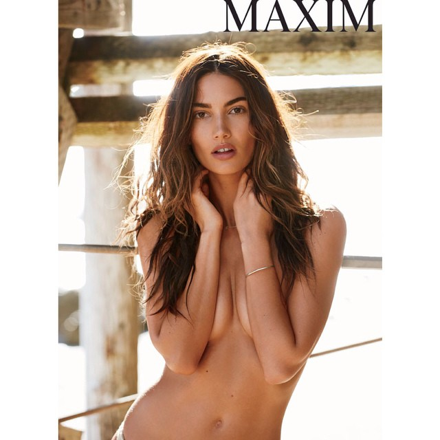 Perfection: @lilyaldridge sizzles on the latest @maximmag!