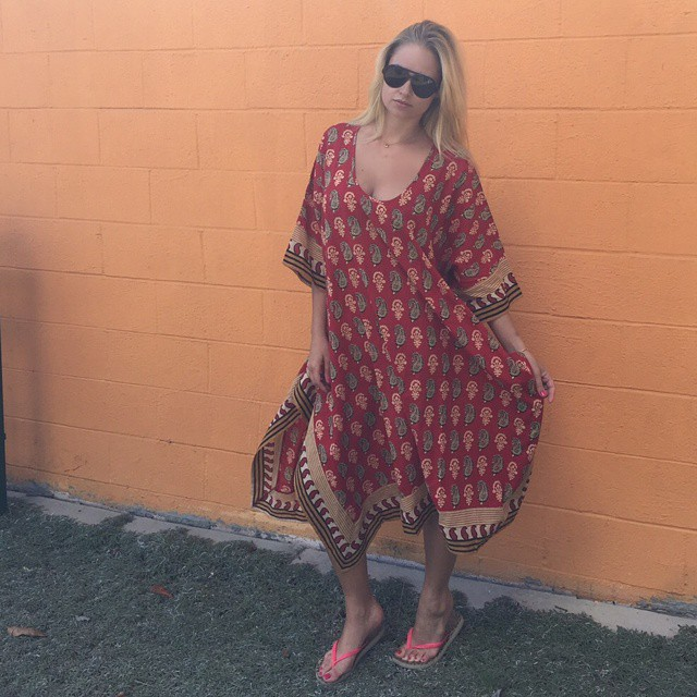 Wish I could wear a kaftan everyday, thank you @bandofgypsies_ for this one #ootd