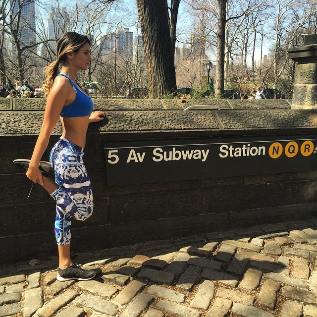 through Central Park before heading back to la #dontwannaleavenyc