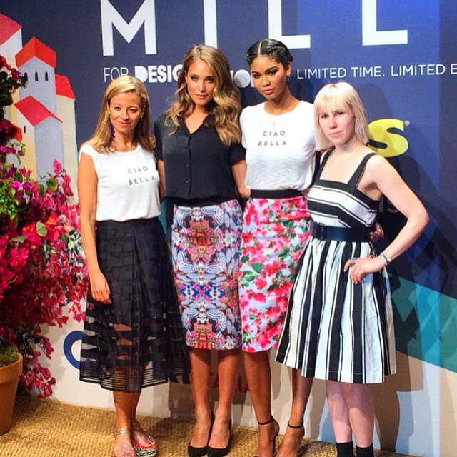 Fun night with #millyforkohls @millybymichelle @kohls @chaneliman @zosiamamet