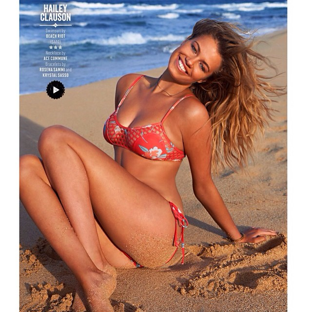 sandy buns in Kauai for @si_swimsuit shot by @yutsai88 @mj_day hair @jrugg8 makeup @allanface