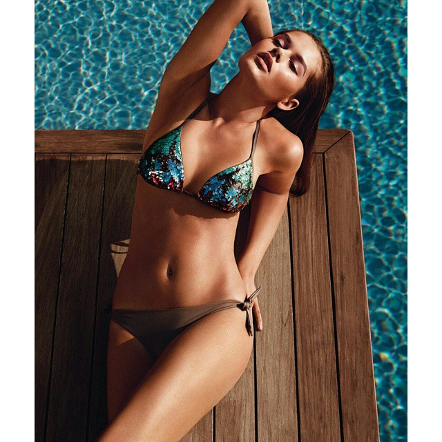 Its summer time! @twinsetofficial @alvarobeamud #summer #twinset #milano #swimsuit