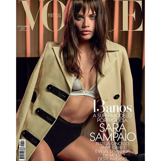 There's not just 1 but 2 covers... @vogueportugal November 2015 shot by @frederico__martins
