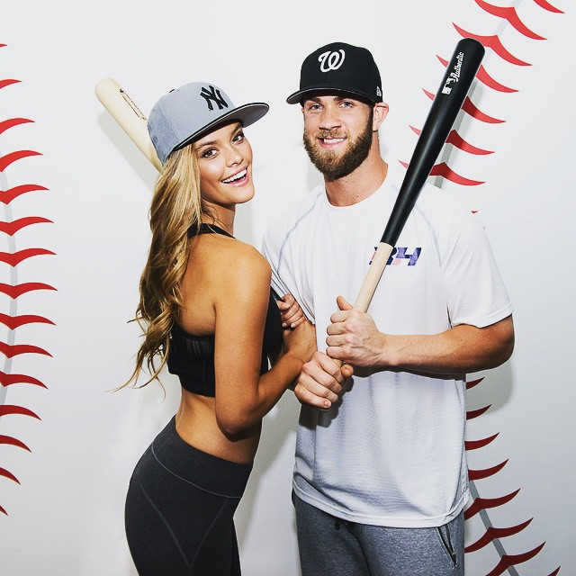 Had a ball today with @BHarper3407 and @NewEraCap! Can't wait for you all to see these amazing MLB All-Star caps! #ThisIsTheCap #BattleForTheCap