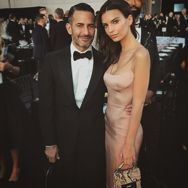 Tonight with the lovely @themarcjacobs thank you for having me as your guest and congratulations !