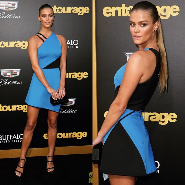 Had so much fun at the #EntouragePremier monday night! Go watch it! Styling: @katiebof Manicure: @christinaviles Face: @allanface Hair: @jrugg8