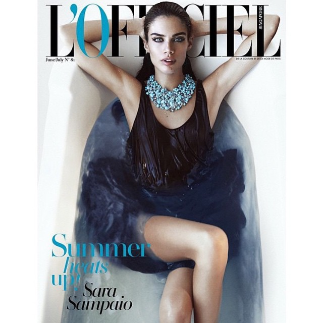 So excited to finally show u guys my new cover for @lofficielsingapore June/July 2015 shot by @jackwaterlotstudio @thelionsny