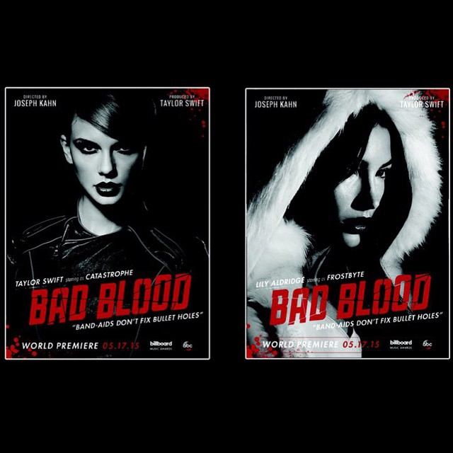 #BadBloodMusicVideo opens the @officialBBMAs!!! Tune into ABC Tonight at 8pm Don't miss it!! @TaylorSwift #FrostByte