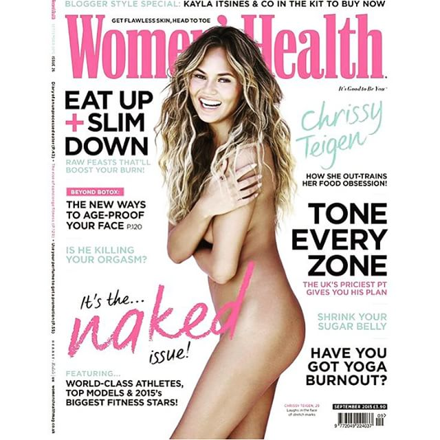 Woohoo!! Thank you @UKwomenshealth! And love to the team I can't live without @1maryphillips @giannandrea1 @42west and my fabulous @imgmodels