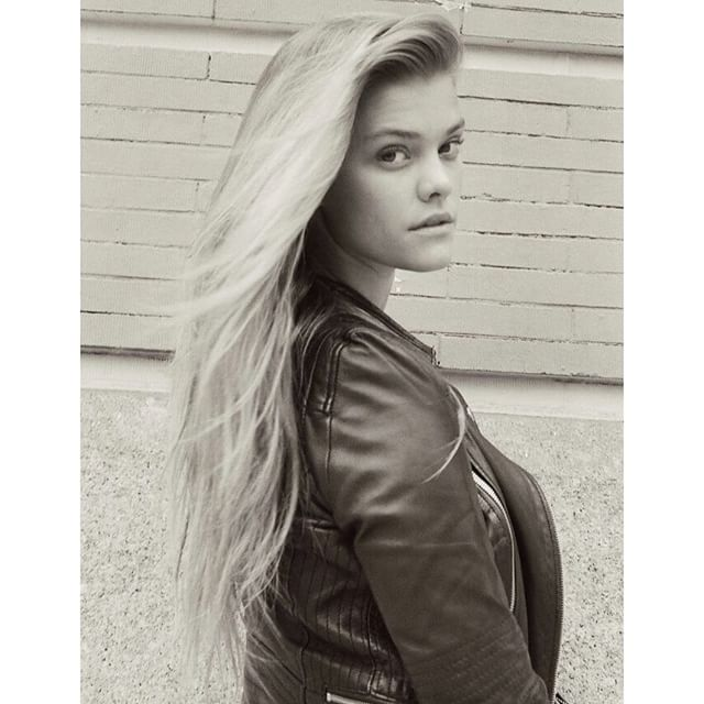 """""""Im not fancy, I dont wake up with sex hair and I only eat the red skittles."""" Check out @crfashionbook .com @evelienjoos"""