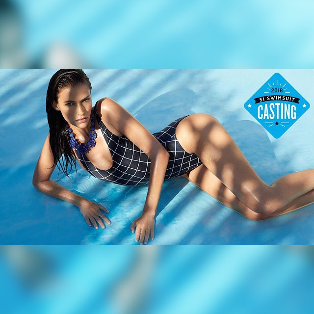 @christina_makowski from @newyorkmodels is on Swim Daily! Click the link in our bio! #SISwimCastingCall