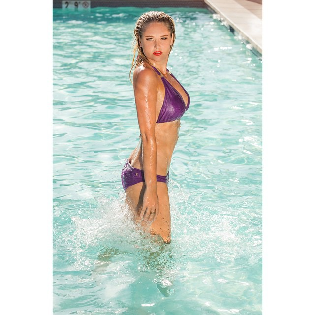 Swimsuit - @guriabeachwear photographer - @tracykahn Make up - @cristinamclamb hair - @hairbyashleyh styling @ririrabit