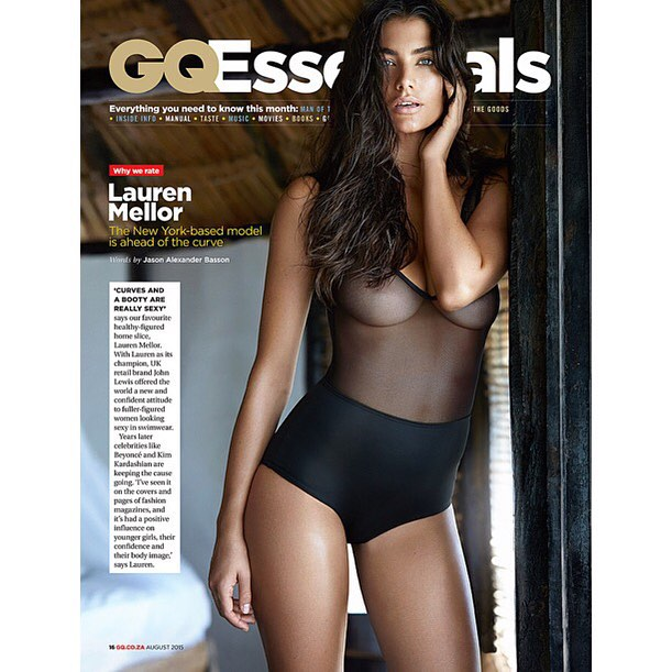 August Issue GQ SA photographer @gavinoneillphoto Hair & Make up @tinaecheverrimakeup #GQ @wilhelminamodels @outlawsmodels @pma_models @thehivemodels #laurenmellor