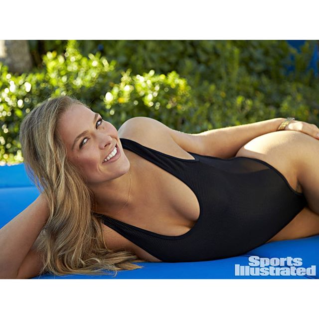 Congrats @rondarousey on your knockout, 34 second victory! Can't wait to watch you defend your 12-0 in the future! #siswim #rondarousey #ufc190 (@walteriooss)
