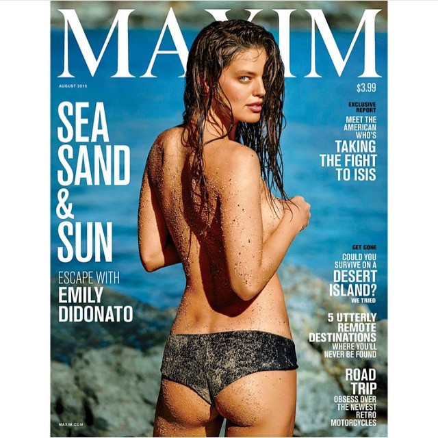 New cover of @maximmag shot by #gillesbinsemon makeup by @misha212 hair @kaylamichelehair @imgmodels @sbermood