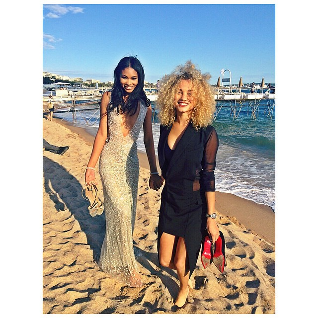 Back in Cannes to support my wifey @chaneliman #DopePremiere