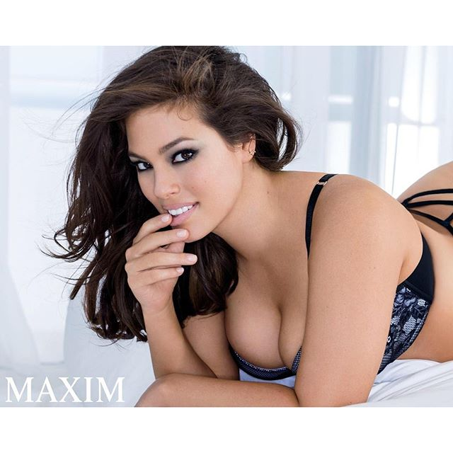 #AshleyGraham (@theashleygraham) covers + stars in the latest @maximmag. @gilles_bensimon @leslielopezmakeupartist #IMGstars