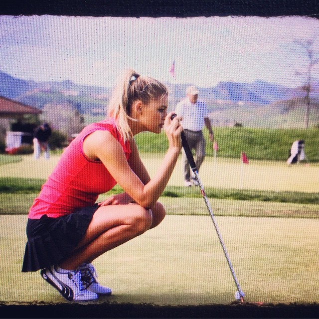 #tbt to my golfer girl days