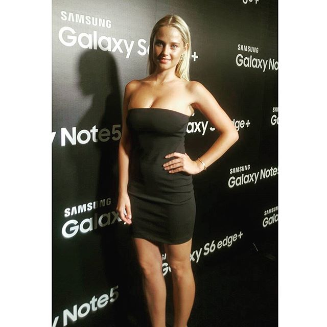 Last night at the @samsungusa galaxy s6 edge+ launch