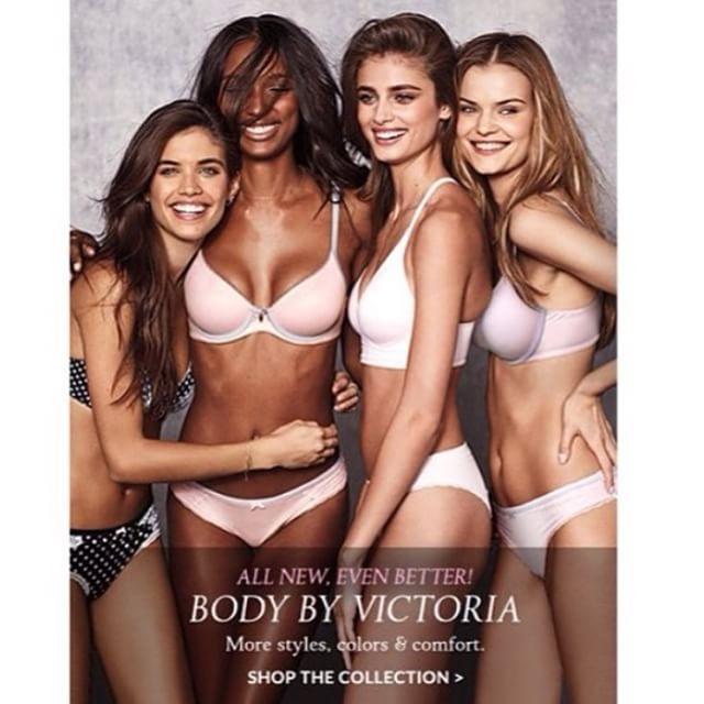 New Body by Victoria campaign @jastookes @taylor_hill @_kate_g_ @ed_razek @nomadrj @insta_bobb @tinat2 @jen_king @elizabethsulcer @fulviafarolfi @italogregorio @hungvanngo @harryjoshhair