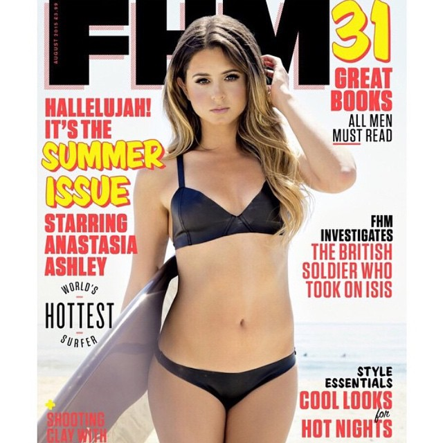 New @fhmagram out now! Shot by @fortunafoto style @nevakaya glam @haleybuckner @johnnystuntz