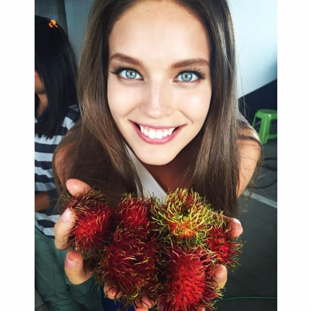 Rambutan AKA furry fruit! So good! #Bangkok #thailand @patnacha