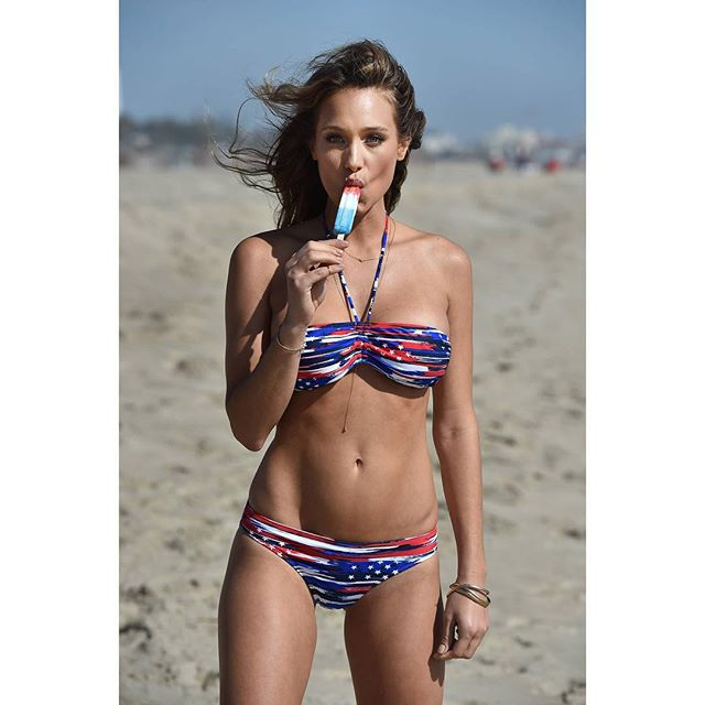 Ready for the holiday weekend in my @opoceanpacific bikini! Happy 4th! #OpSummer