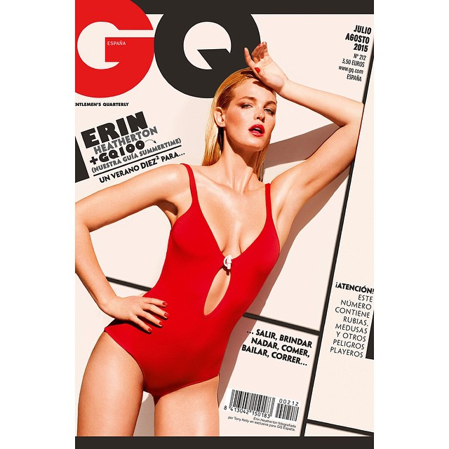 Hey there. My @GQSpain cover July/August Issue by the lovely @tonykellyphoto #GQjulioagosto