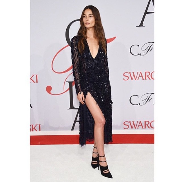 Dream dress by @thakoonny last night at the @Cfda awards!! Shoes by the accessory designer Winner and my Love @TabithaSimmons!! And jewels by @evafehren @lamarquenyc @quinnmurphy1 @brycescarlett