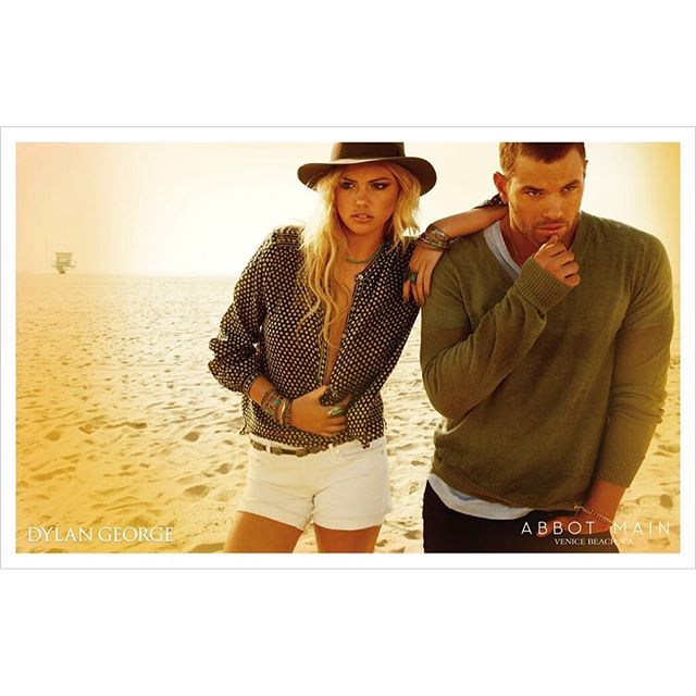 #TBT @DylanGeorgeDenim Campaign @KateUpton @KellanLutz shot by @YuTsai88 #Makeup for #KateUpton: @allanface #Hair for #KateUpton: @jrugg8 #Grooming for #KellanLutz: @ChauntalLewis #Stylist: @lmbla #Manicurist: @emikudonails #Production: @88phases #dylangeorgedenim #campaign #makeupartist #beauty #denim #jeans #allanface
