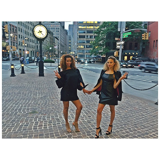 NYC with my bestie @manonbensaoud