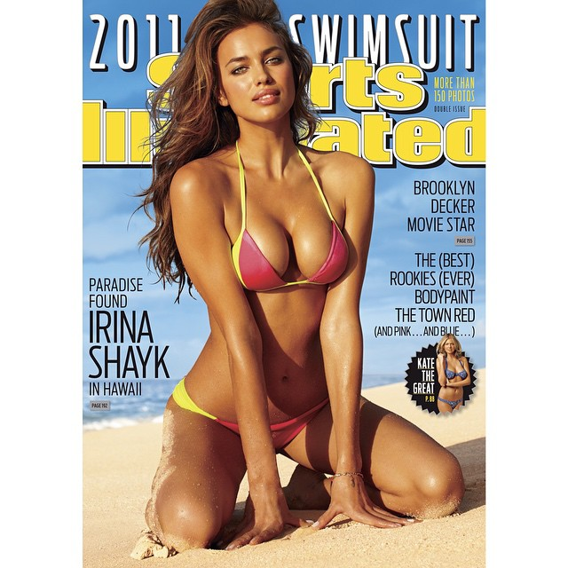 #tbt @irinashayk and her incredible 2011 cover. Shot in Hawaii by @bjorniooss #siswim