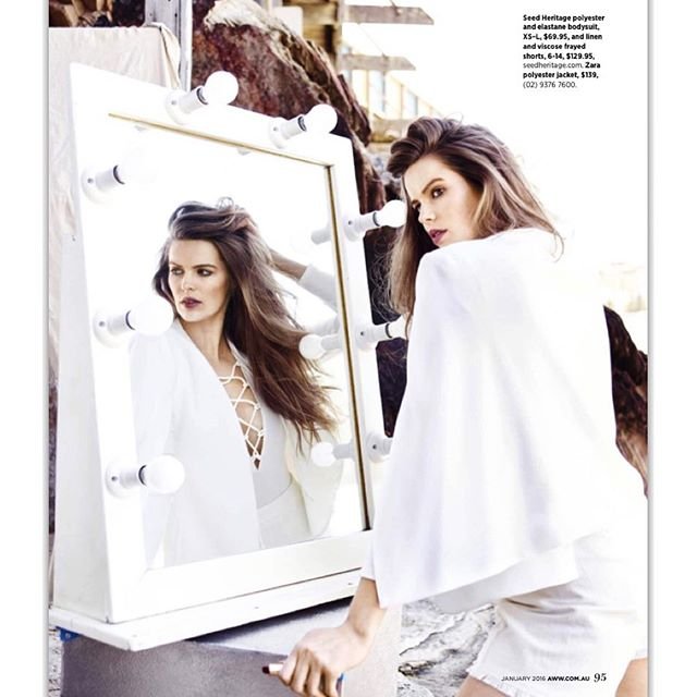 This month in @womensweeklymag makeup and hair by my bros @charliekieltybeauty and @bradmullins_hair styling by @mattiecronan and photography by @corrie_bond