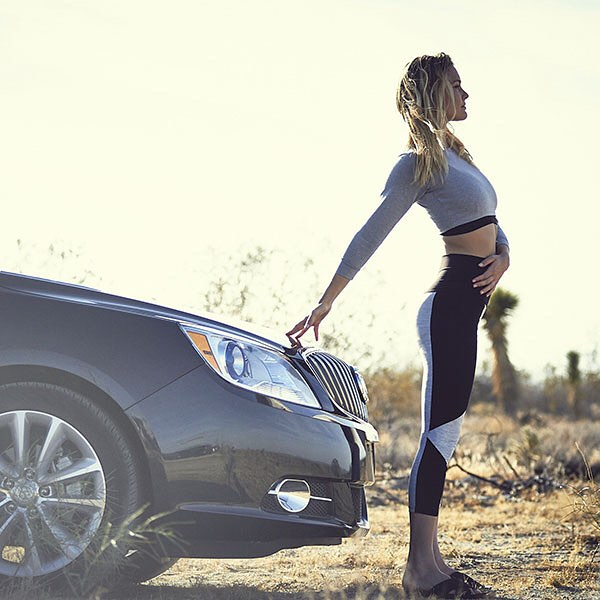 Check out these simple yoga moves I worked on with Chad Dennis, as part of the @BuickUSA 24 Hours of Happiness Test Drive. They'll make any road trip #Happier! Watch the full story at Buick.com/Happiness #BuickHappiness