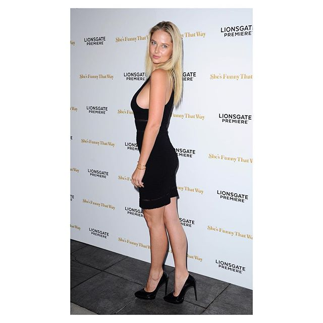 "Last night at the ""She's funny that way"" premier in Los Angeles"