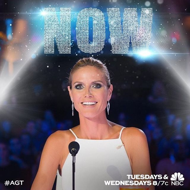 @nbcagt is on now!! #agt10