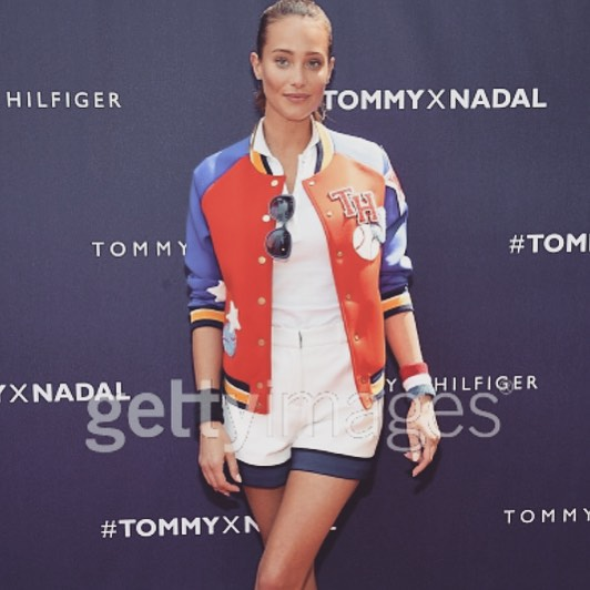 Back to my roots w/ @tommyhilfiger and @rafaelnadal #TommyxNadal