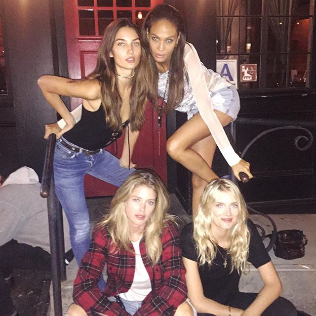 New York Nights @joansmalls @doutzen @lilymdonaldson