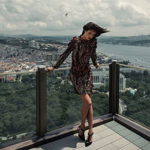New @lofficielparis #voyage shot in beautiful Istanbul @t1advertising @thelionsny
