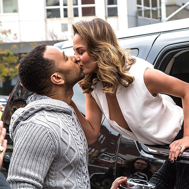 Not ashamed to admit that we're pretty much obsessed with #ChrissyTeigen and #JohnLegend – #relationshipgoals, #lifegoals, all the #goals. Happy anniversary, @chrissyteigen and @johnlegend! | Alessio Botticelli/GC Images