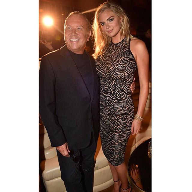 #TBT #Throwback to #NYFW with @MichaelKors #MichaelKors Hair @brycescarlett Makeup @quinnmurphy1 #GoldFragrance