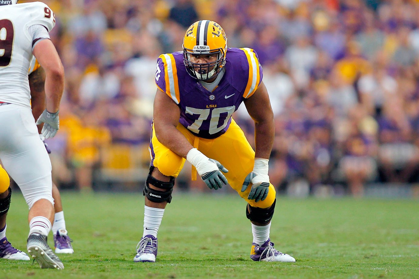 Collins has the size and strength to be an NFL star, but will he play at guard or tackle?