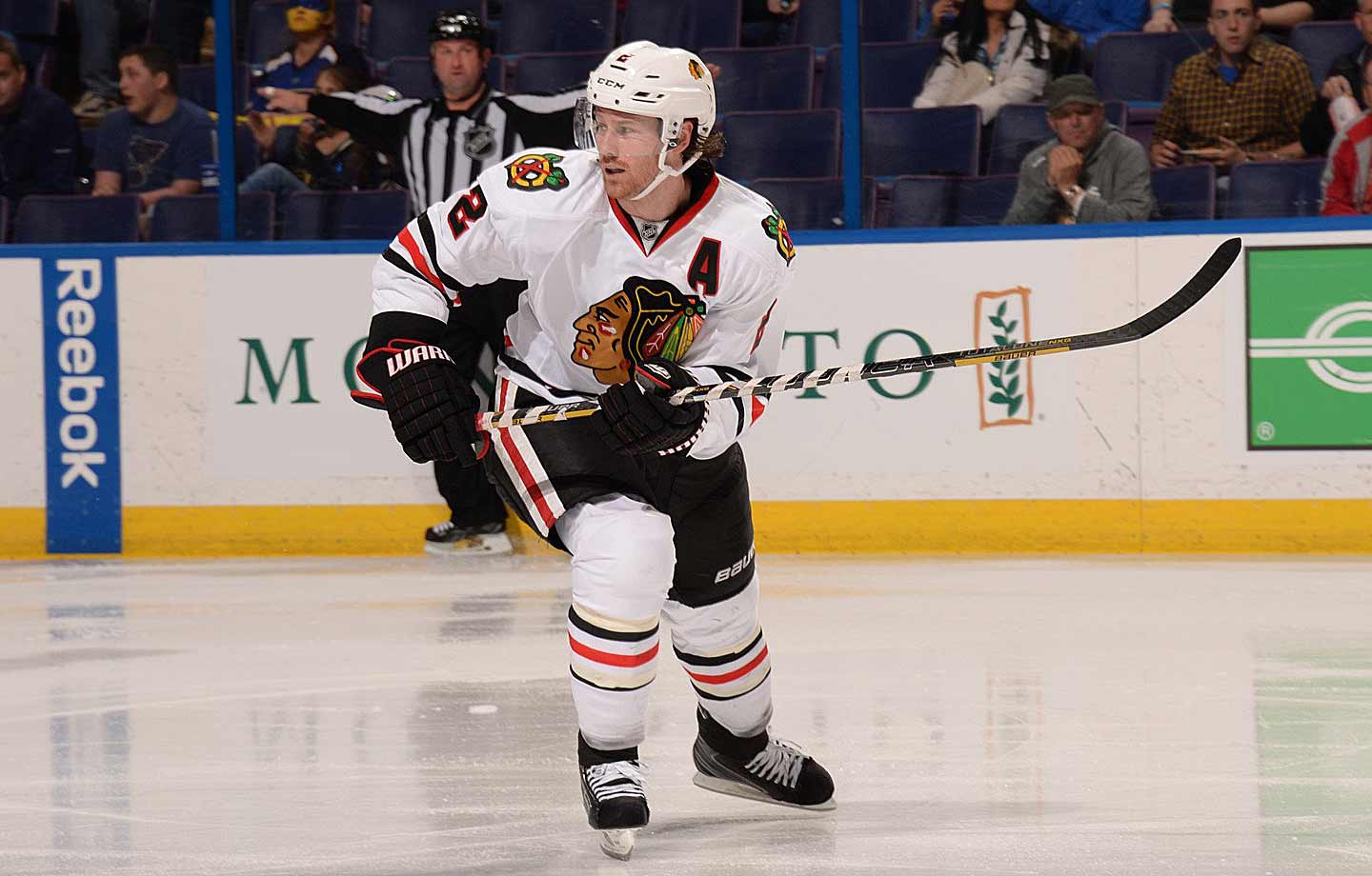 Widely considered to be one of the league's best defensemen, Keith joined the Blackhawks the season after the lockout and went on to win the Norris Trophy in 2010 and '14. He also bagged Olympic gold medals while playing for Canada those years. In 2010 and 2013, he helped propel the Blackhawks to the Stanley Cup.