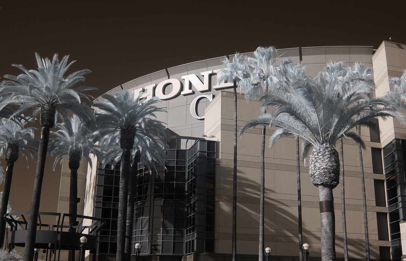 Anaheim's Honda Center before a game between the Ducks and the Washington Capitals on March 18, 2014.